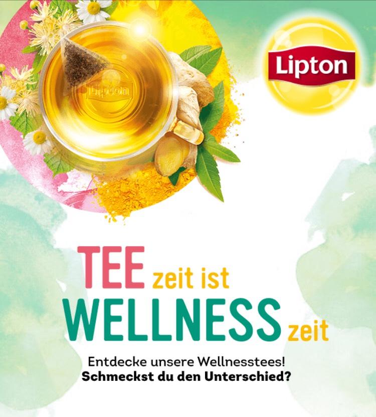 Lipton - GRATIS SAMPLE Tee zur Auswahl