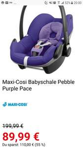 Maxi Cosi Pebble Purple Pace bei Spielemax