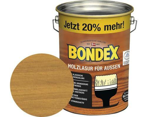 Bondex Holzlasur für Außen Bauhaus TPG