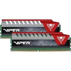 Patriot Viper 4 Elite rot DIMM Kit 8GB (2x 4GB), DDR4-2800 RAM, CL16-18-18-36