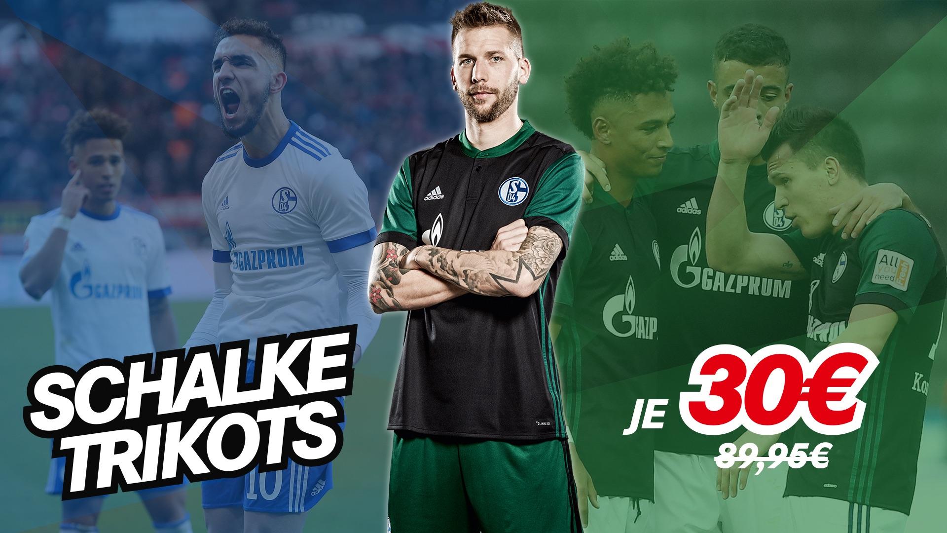 Schalke Ausweichtrikot für 30€ zzgl. VSK 5€ - Originalpreis 89,95€