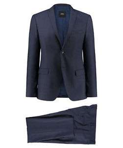 """[engelhorn @ ebay] s.oliver slim fit Anzug """"cosimo"""" (black label), 100% Schurwolle, blau"""
