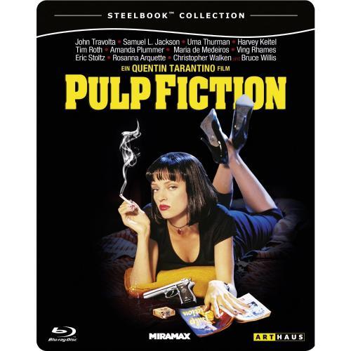 Pulp Fiction Steelbook Blu-ray vorbestellen 13,99€ @amazon.de