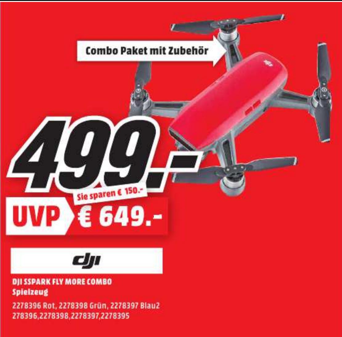 [LOKAL] DJI Spark Combo im Media Markt Speyer