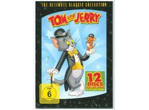 [Dodax] Tom & Jerry - The Ultimate Classic Collection, 12 DVDs