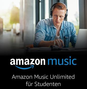 3 Monate Amazon Music Unlimited Gratis für Prime Student