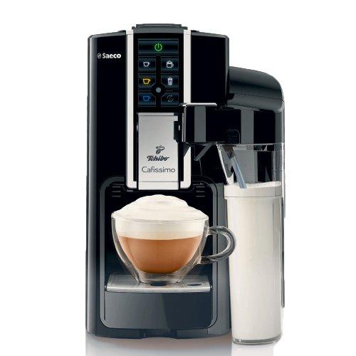 Angebot des Tages Tchibo Saeco Cafissimo Latte Kaffeemaschine inkl. 90 Kapseln