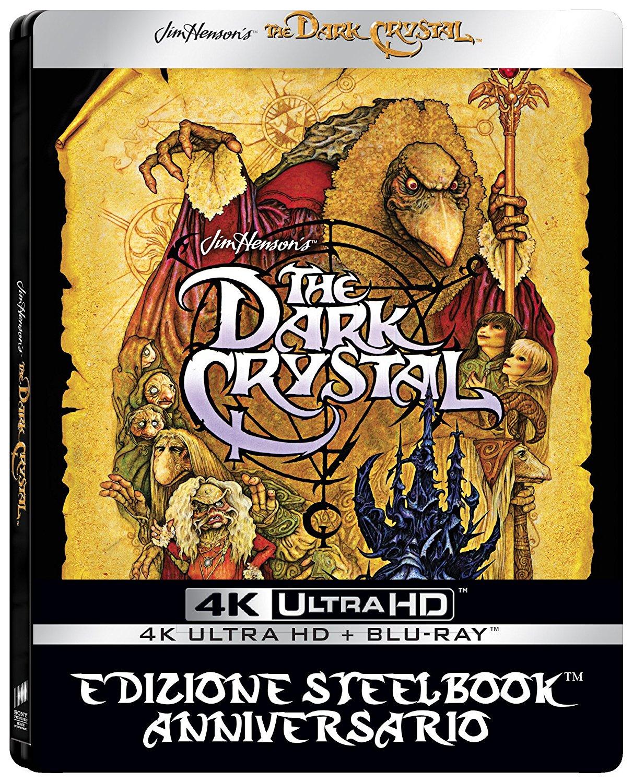 [Amazon.de MP - Dodax] Der Dunkle Kristall – Steelbook (4K Ultra HD + Blu-ray, IT-Import, dt. Ton)