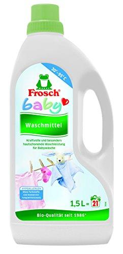 FROSCH Baby - Waschmittel, 5er Pack (5 x 21 Waschladungen)
