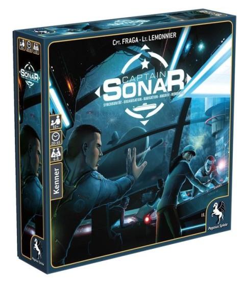 Captain Sonar Brettspiel Gesellschaftsspiel zum Bestpreis