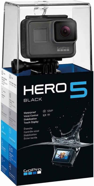 GoPro HERO5 Black 4K (Ultra-HD) Actioncam nur 242,50 € mit Gutscheincode