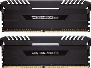 [Amazon.es] Corsair Vengeance RGB schwarz DIMM Kit 32GB, DDR4-3000, CL16-18-18-36 (CMR32GX4M2D3000C16)
