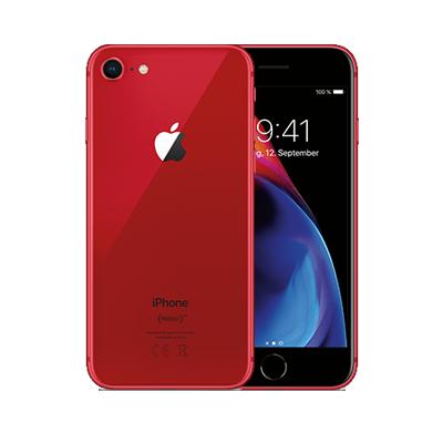 [Curved Shop] NUR NOCH HEUTE - Apple iPhone 8 64 GB RED + gratis Air Pods + o2 Free M | 49,00€ einmalig 39,99€ mtl. | auch Young möglich