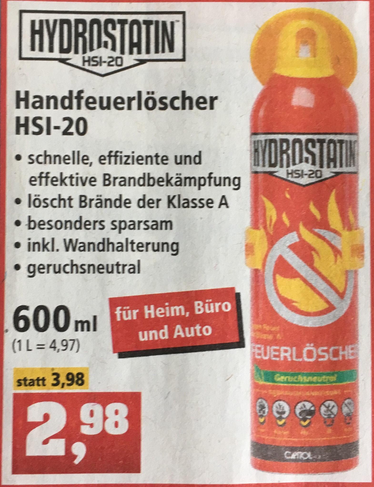 [Thomas Philipps] Handfeuerlöscher HSI-20, 600ml, inklusive Wandhalterung, ab 16.04.