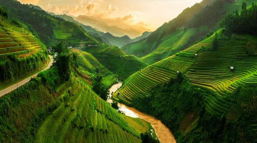 Flüge von Billund nach Vietnam ab 365€ inkl. Gepäck (April - Juni)