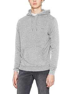[Amazon] Pepe Jeans London Kapuzenpullover Grau Größe S