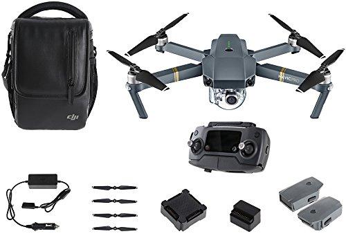 DJI - Mavic Pro 4K RTF Fly More Combo faltbare Drohne