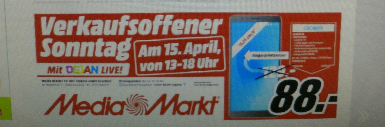 Verkaufsoffener Sonntag [MM Bruchsal] Alcatel 3C