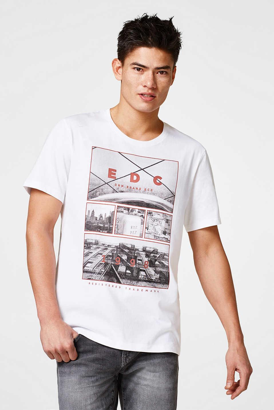 Esprit EDC Jersey-Shirt mit Foto-Print