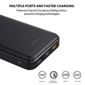 Aukey Powerbank mit 20000mAh & Quick Charge 3.0 für 20,74€ (Amazon.fr)