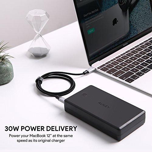 Aukey Powerbank mit 26500 & Quick Charge 3.0 & USB-C Power Delivery für 33,37€ (Amazon.fr)