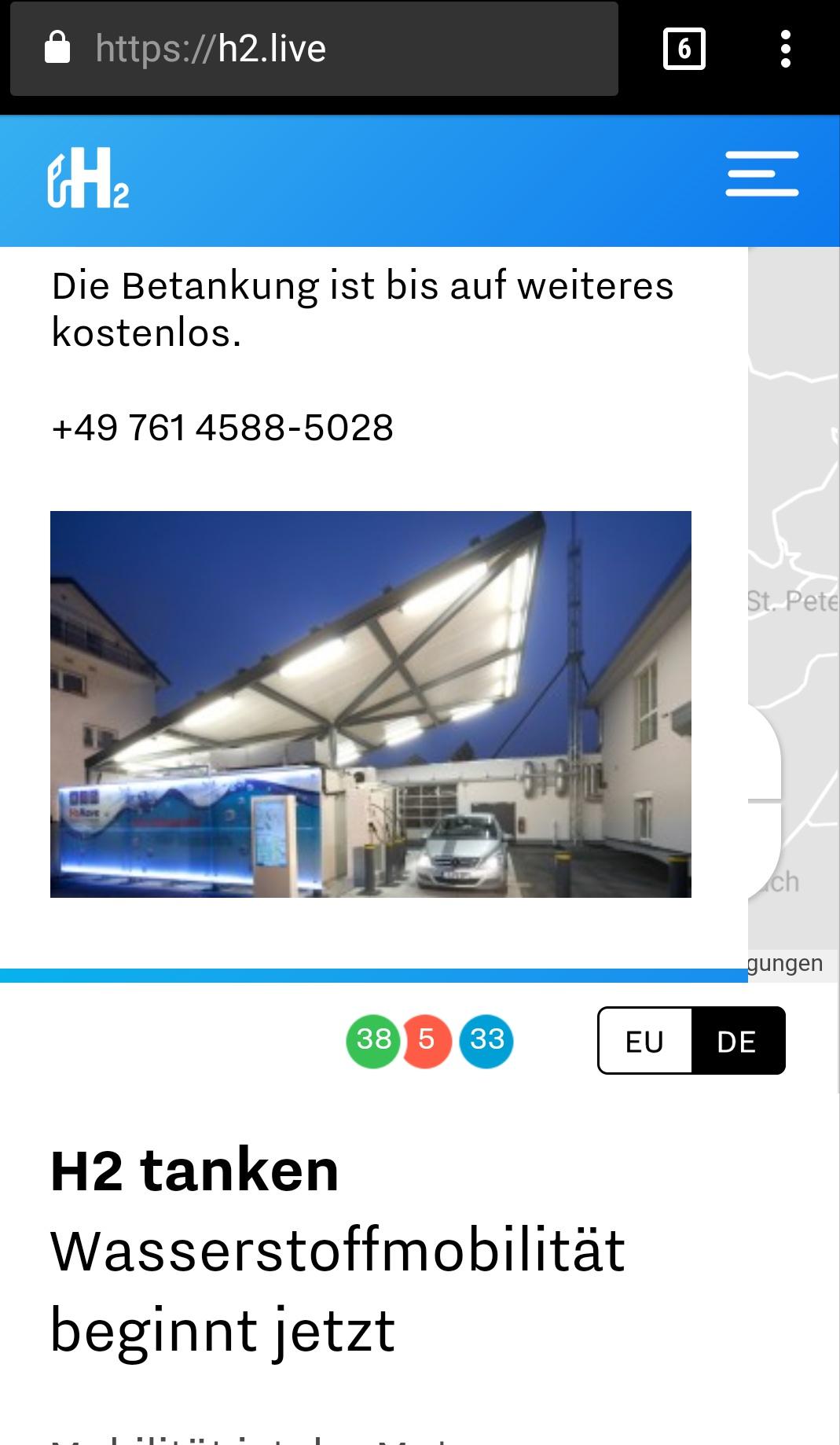 [Lokal Freiburg] Wasserstofftankstelle bis auf weiteres KOSTENLOS tanken!