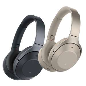 Sony WH-1000XM2 Bluetooth Kopfhörer in schwarz oder gold (adaptives Active Noise Cancelling, Bluetooth 4.1, NFC)