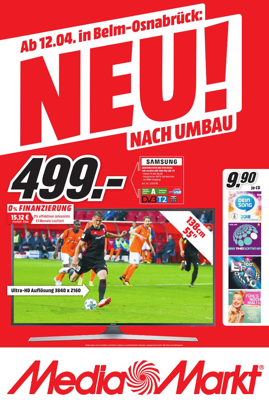 [Lokal Belm Osnabrück] MM Neueröffnung Sammeldeal - Bsp. JBL Flip 4 Squad für 66€ o. Pioneer HTP 206 für 222€