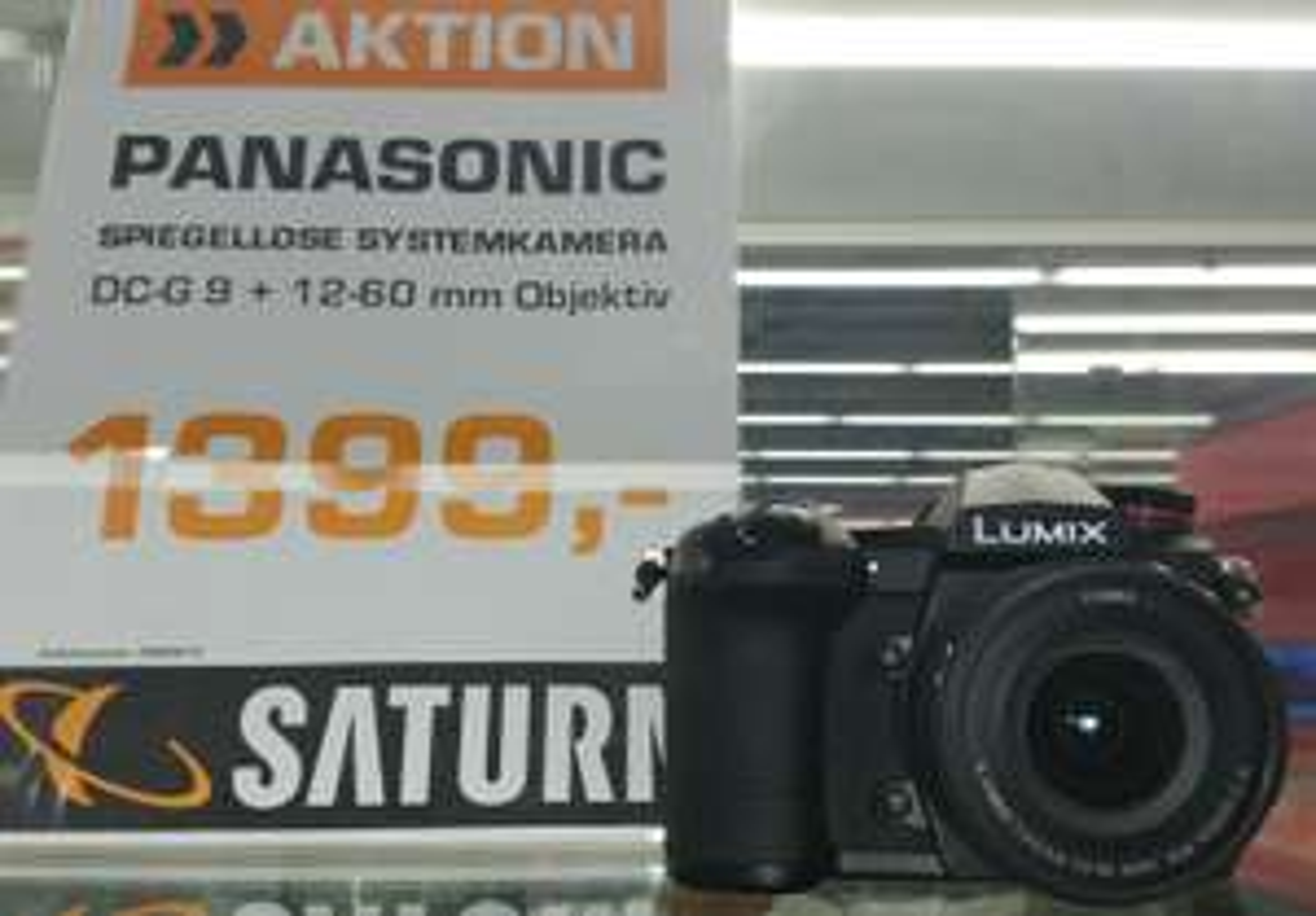 Panasonic Lumix DC-G9 M Kit (mit 12-60mm 3.5-5.6) lokal im Saturn Stuttgart