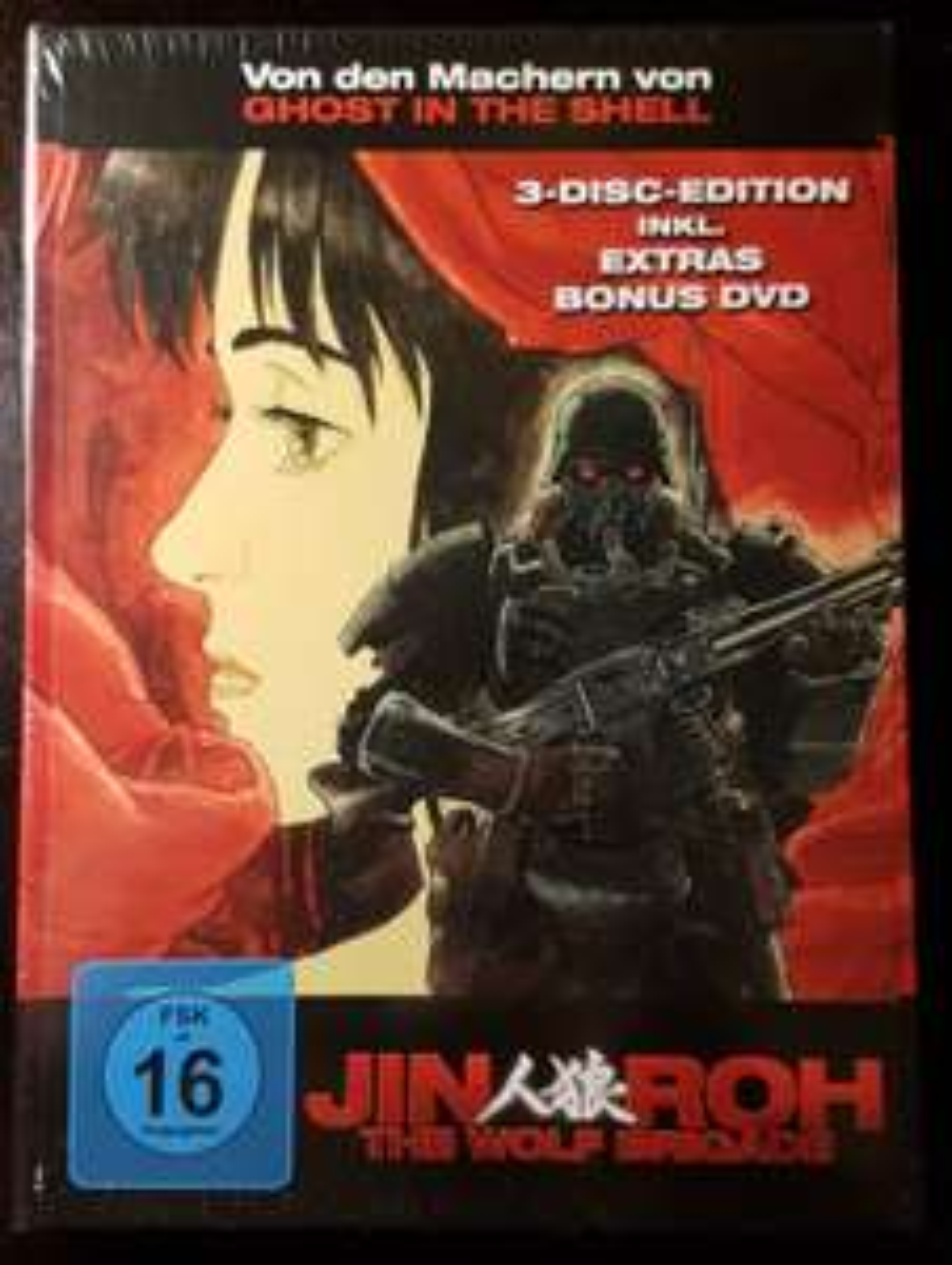 Jin Roh Anime 3 Disc Mediabook 10,87 € inkl. Versandkosten