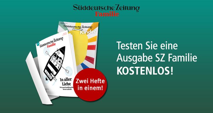 Süddeutsche Zeitung Familie (MAG-Club) Probeexemplar