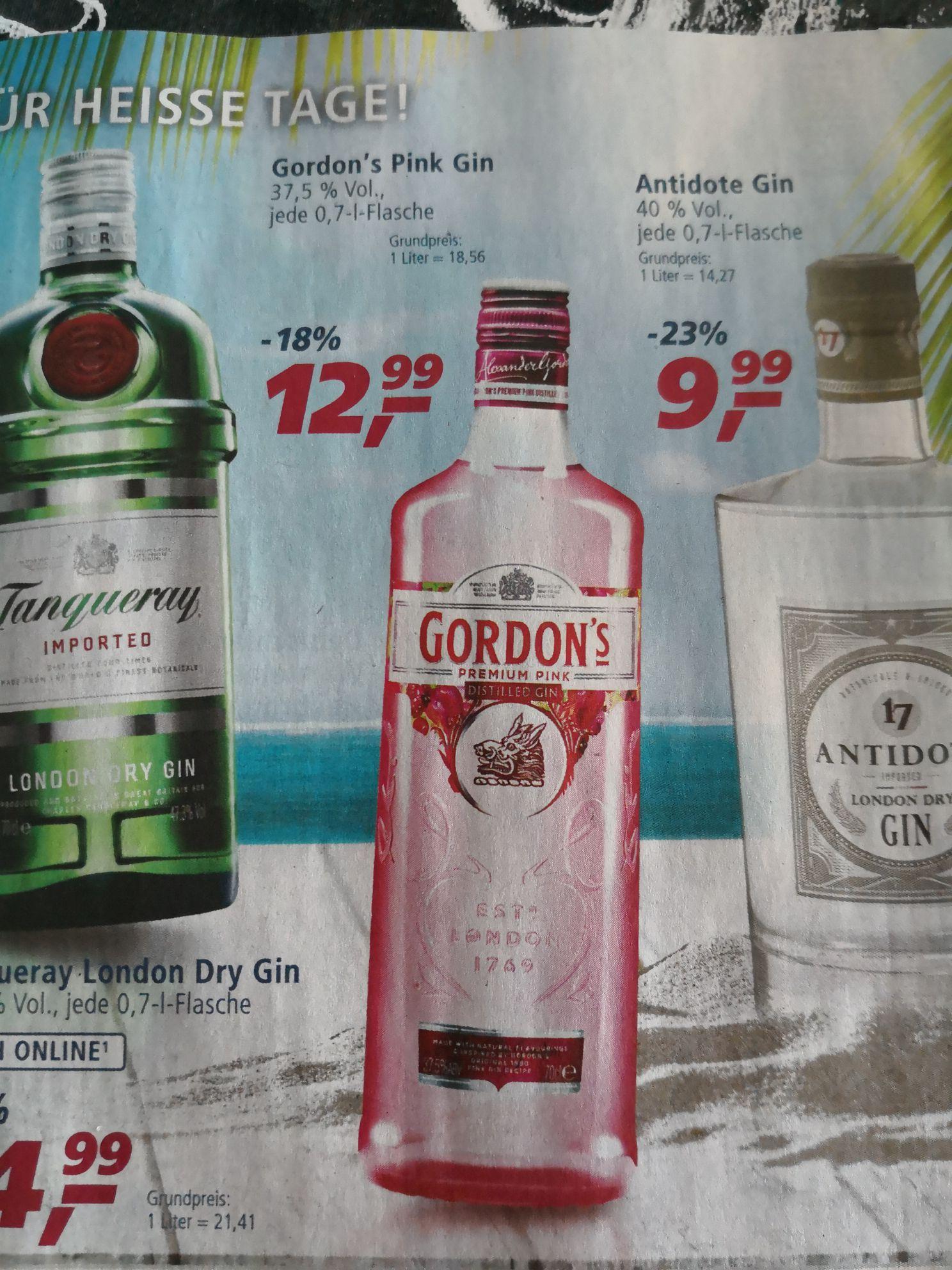 Gordon's Premium Pink Distilled Gin (1 x 0.7 l) Real in Kirchheim/Neckar