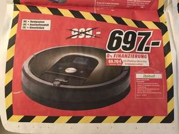 [Media Markt Konstanz] IRobot Roomba 980 Saugroboter