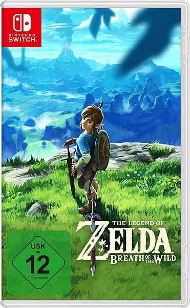 The Legend of Zelda: Breath of the Wild Nintendo Switch -Neukundengutschein-