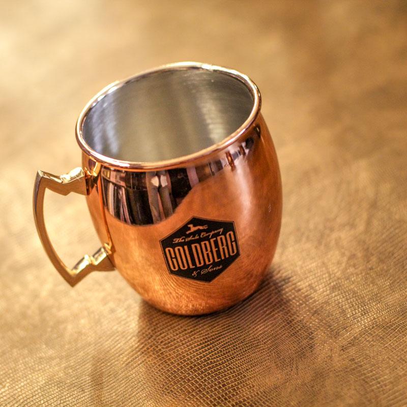 GOLDBERG Kupferbecher Copper Mug / Edelstahl mit Kupferoptik günstiger als beim letzten Deal