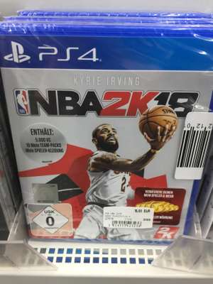 NBA2K18 PS4 Media Markt Weserpark/Waterfront Bremen (Lokal?)