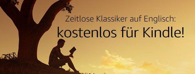 Über 100 Buch-Klassiker kostenlos für Kindle [auf Englisch]