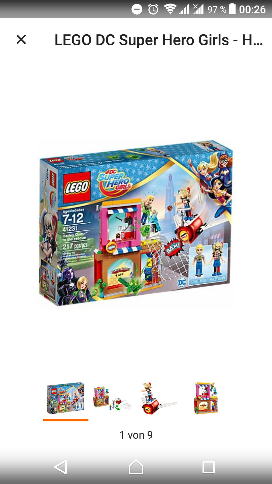 (Real.de) wieder einige günstige Sets z.B. Lego 41231 für 12,77€