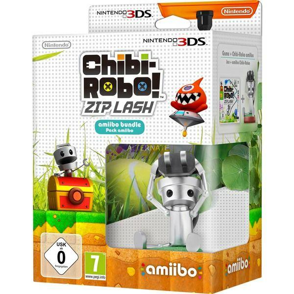Chibi-Robo!: Zip Lashamiibo Chibi-Robo inkl. 3DS Spiel (3DS)