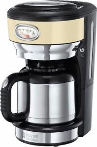 ebay: RUSSELL HOBBS 21712-56 Retro Vintage Cream Filter-Kaffeemaschine Thermoskanne NEU
