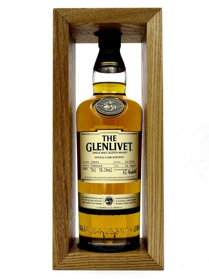 Whisky Kracher Glenlivet 16 Jahre Single Cask Edition Glencuíe 59,1% Vol.