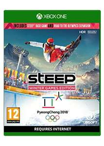 Steep: Winter Games Edition (Steep + Road to the Olympics) (Xbox One & PS4) für je 22,25€ (Base.com)