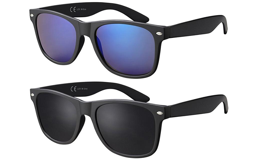 """[Prime] """"Einfache"""" Sonnenbrille im Doppelpack 50% reduziert (Ersparnis 10€)"""