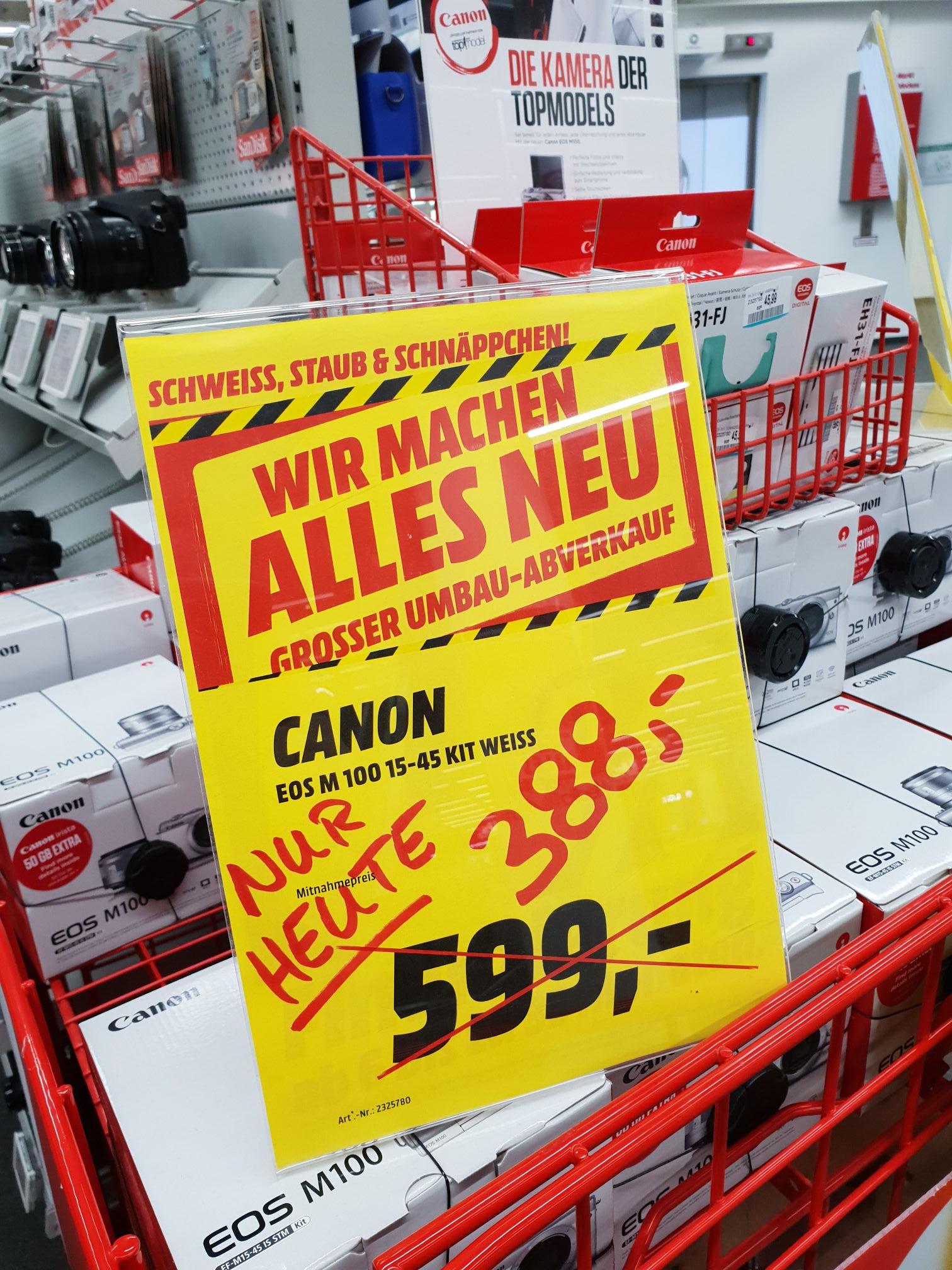 Lokal canon eos m100 15-45 media markt München Haidhausen