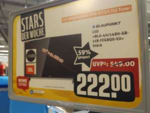 Blaupunkt BLA-40/1480 Full-HD TV (offline, Rewe City im Herold Center in Norderstedt)