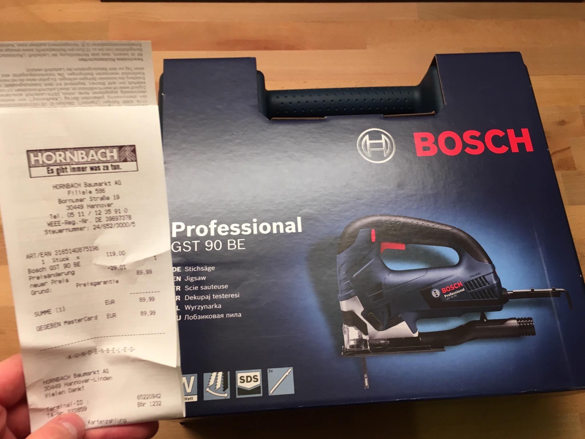 Bosch GST 90 BE [Hornbach Tiefpreisgarantie]