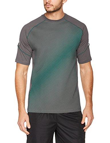 Kappa Herren Bmg Sparetime s/s T-Shirt, 485 Anthra, S