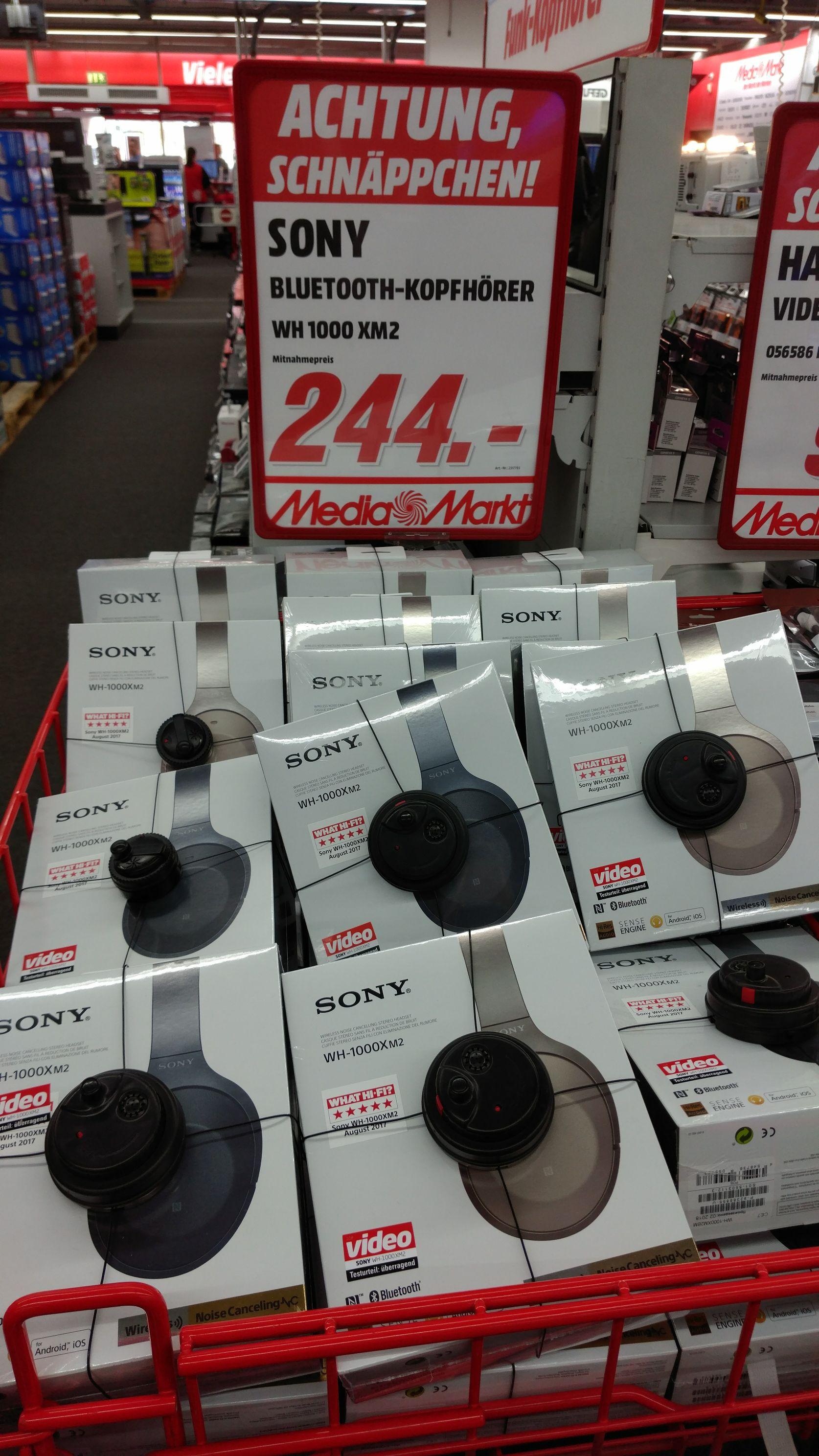 (lokal/Friedrichshafen MM) Sony WH 1000 XM2