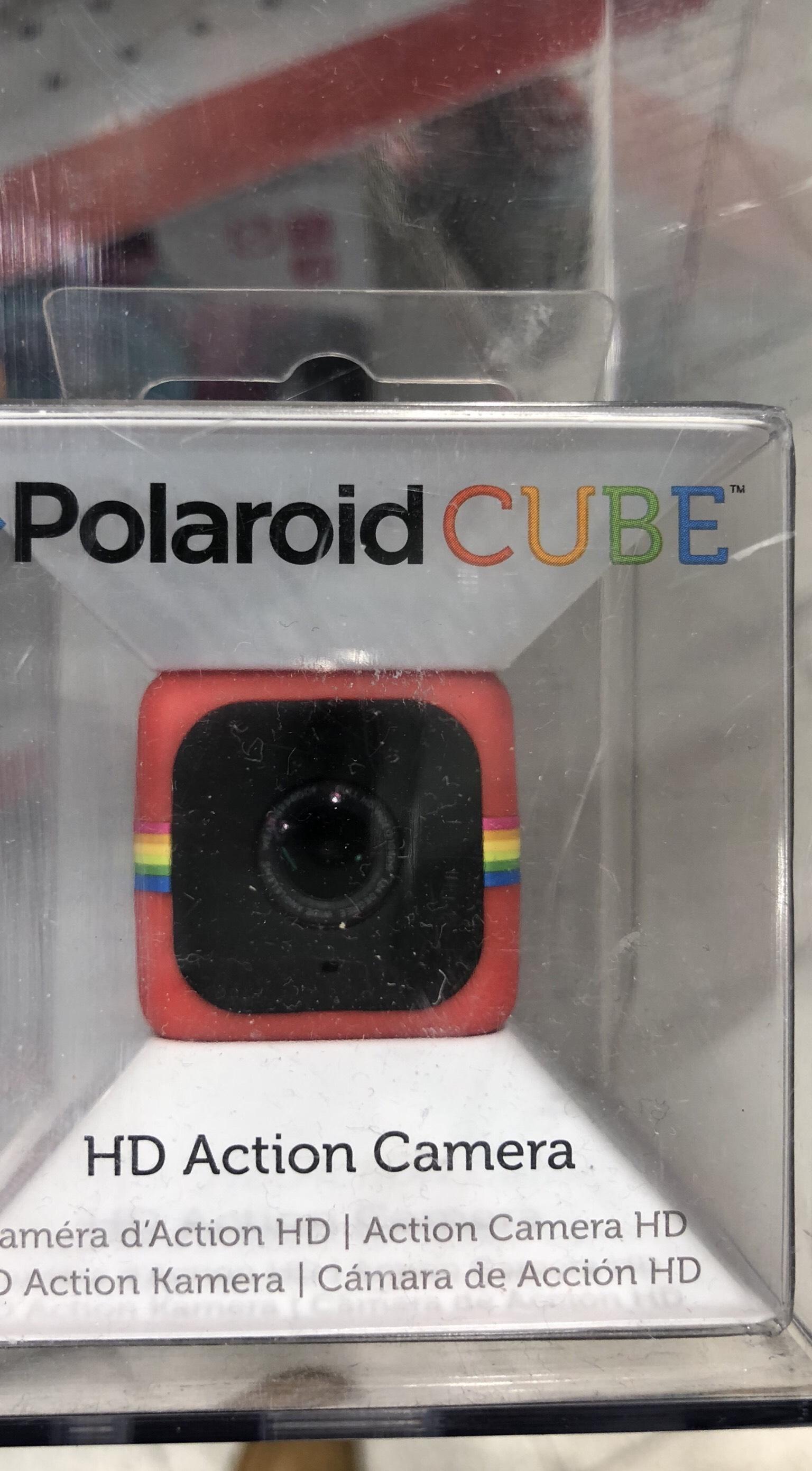 (Lokal - Toys R Us - Kiel) Polaroid Cube HD 1080p Lifestyle Action Videokamera (Rot), 35x35x35mm