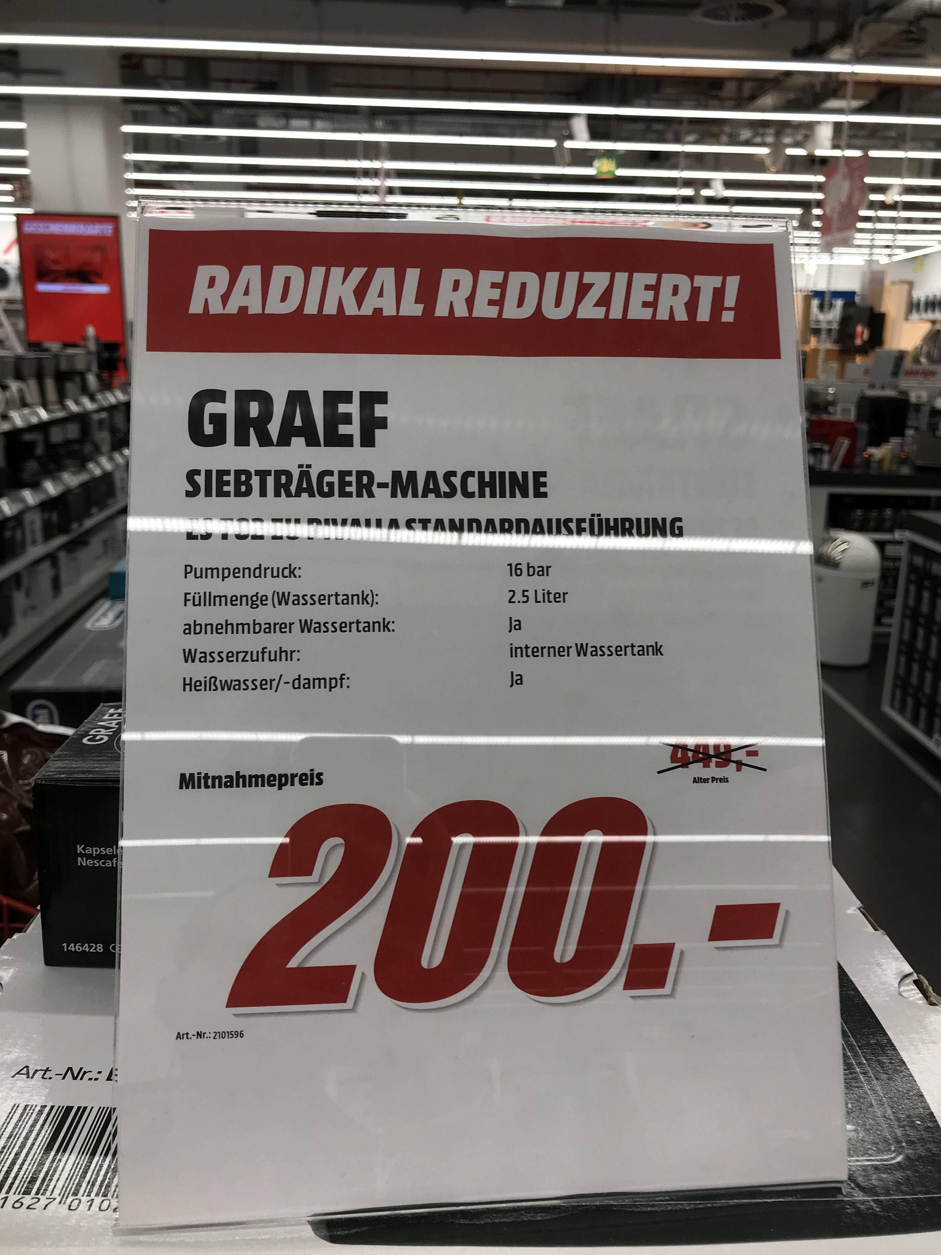 [Berlin] Siebträger Espressomaschine Graef ES 702 Pivalla